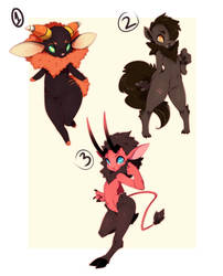 HALLOWEEN ADOPT/AUCTION by SootySheep