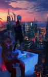 Dusk In The City by ArtfulBeast