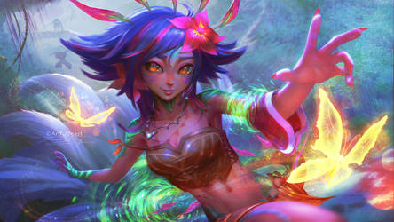 Neeko Fan Art! by ArtfulBeast