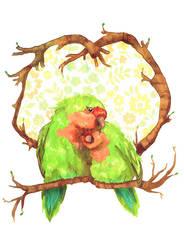 Lovebirds by ync