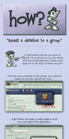 How.. submit to a group. by Kielx