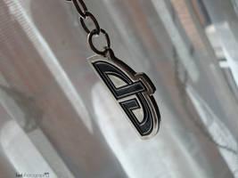My dART keychain. by Kielx