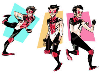 PR Invincible Redesign Final by EvanBryce