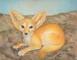 Dessert for fox by KekPafrany