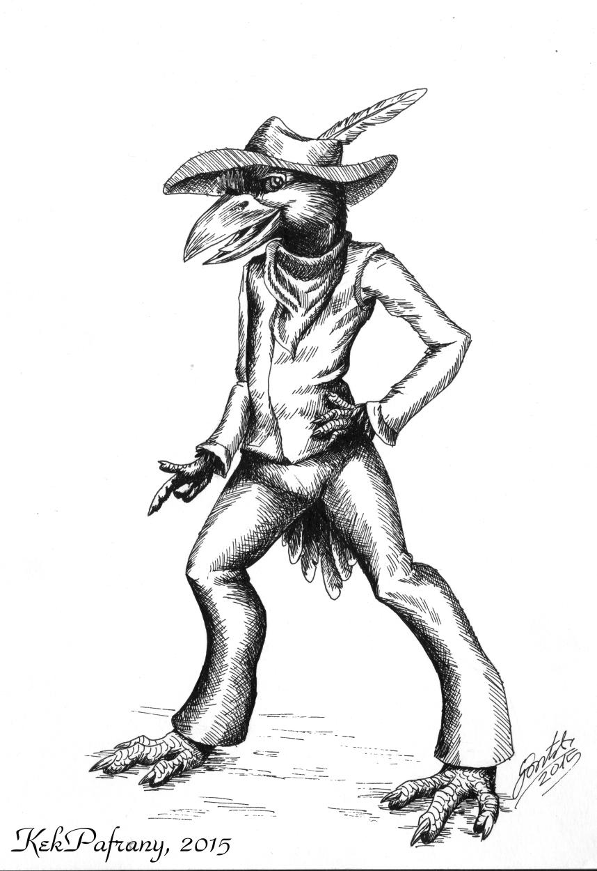 Western tengu by KekPafrany