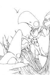 Myr Token MTG by demonplague