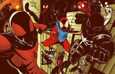 Spidermen! by demonplague
