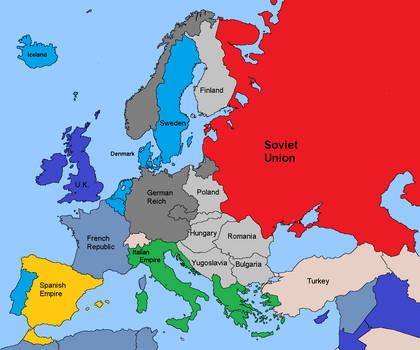 98 Maps Europe Before World War Two 1939 Diercke International