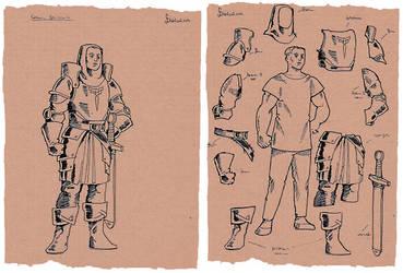 Warrior paperdoll by Samael1103