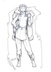 Olga Bassican -Imperium RPG- by Samael1103