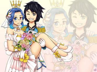 Epic Couple by Nanakyuubi1
