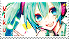 Miku Stamp by Nanakyuubi1