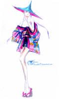 Kimono couture by ScartletV
