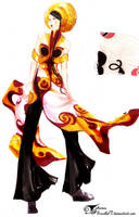 Ao dai couture by ScartletV