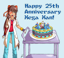 Happy Annivesary Mega Man by Animeartist569
