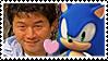 Junichi Sonic Stamp by darkhyliangirl