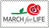 #MarchForLife - Stamp by Skarkat