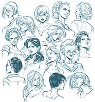Sketches - People by taguiar