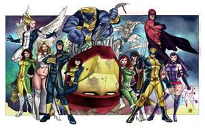 X-Men - Commission by taguiar