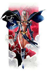 Asgardian Storm - Commission by taguiar