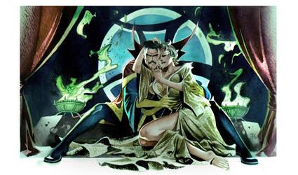 Dr. Strange - Commission by taguiar