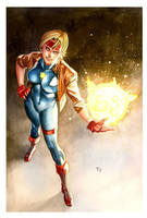 Dazzler - Commission by taguiar