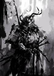Samurai Ink by wacalac
