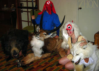 Mononoke Group at NDK09 by Zhon