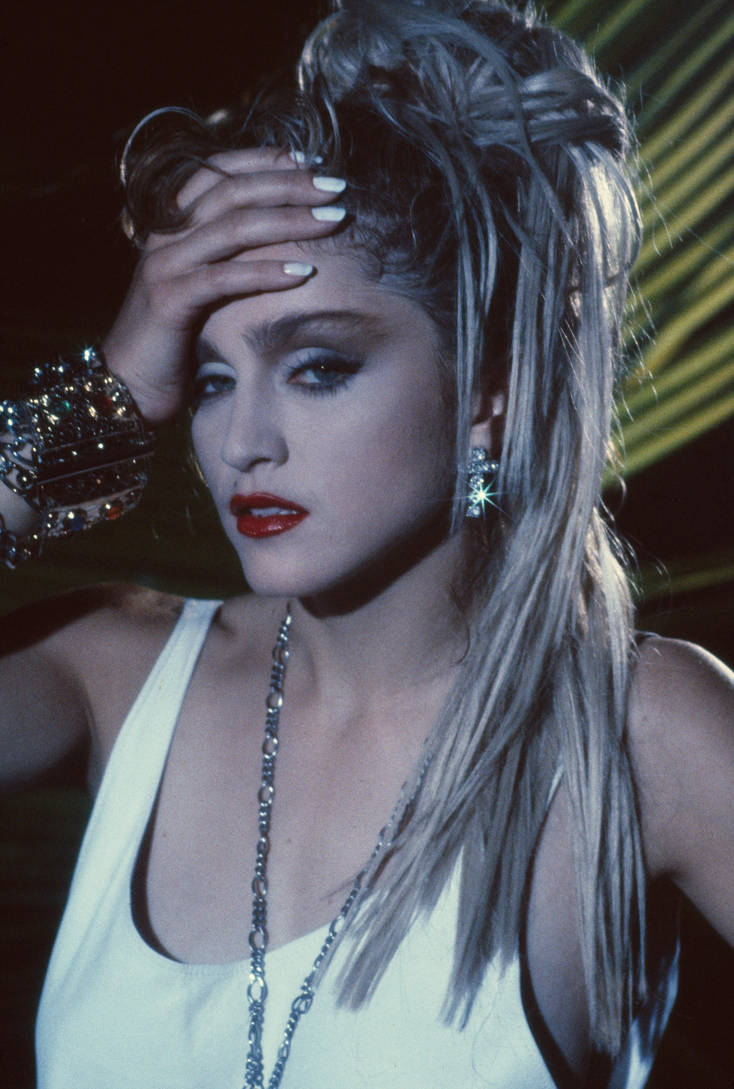 Madonna 80s Outtake Photo Hq High Quality By Confessiononmdna On