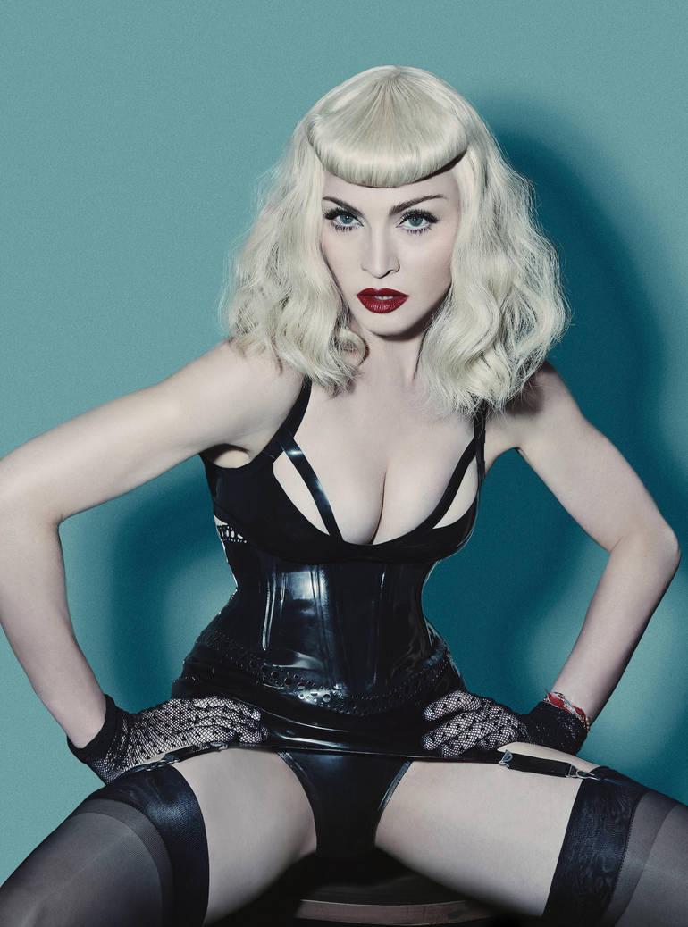 Madonna - V Magazine 2014 by ConfessionOnMDNA
