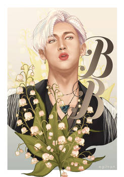 BamBam x Lily of the valley by iratherbenotmyself