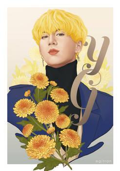 Yugyeom x Chrysanthemum by iratherbenotmyself