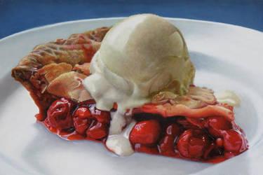 Big Cherry Pie A La Mode by elliez1