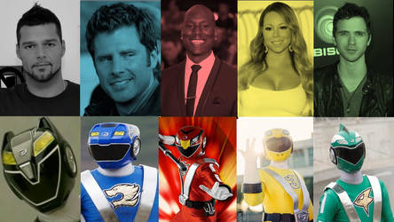 Hollywood Actors As Power Rangers: RPM by PrestonCondra
