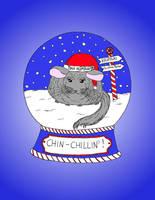 Christmas Chin-Chillin by szynszyla-stokrotka