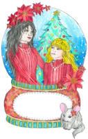 Merry Christmas Auntie Henrietta by szynszyla-stokrotka