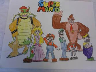 Super Mario by rywilliam91