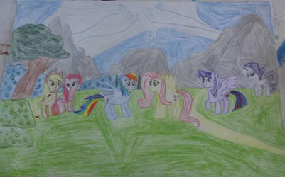 My little pony friendship is magic by rywilliam91