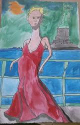 Beautiful lady by rywilliam91