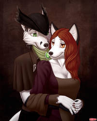 Commission - Victorian Love by WWRedGrave