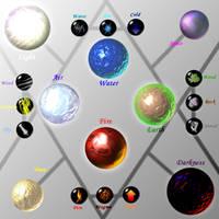 Ze Elements by Caneleb