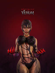 My Venom version face by Sombra1717