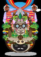 Tribe Papua by muloyoung85