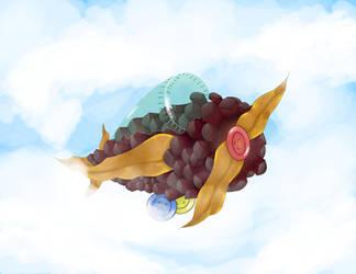 Pine Cone Airplane Updated! by xStellaXx
