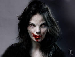Female Vampire 1 by aaronsimscompany