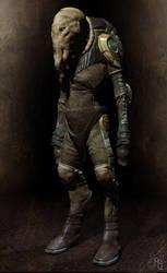 Alien Pilot by aaronsimscompany