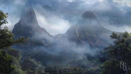 Jungle Island by aaronsimscompany