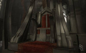 Throne room 1, video game by aaronsimscompany