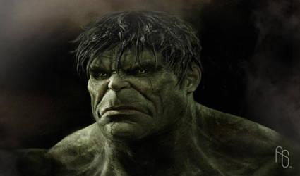 Early Hulk 2 by aaronsimscompany