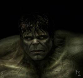 Hulk 3, The Incredible Hulk by aaronsimscompany